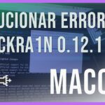 Solucionar ERROR (-21-19) CONNECTING TO LOCKDOWN en CHECKRA1N en iPhone X8 14