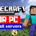 how to download Minecraft PE For Pc In Free with all premium server