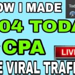 CPA Marketing 2021 – How I Made 504 Today with CPA Marketing CPA Marketing Tutorial NEW SECRET🤑