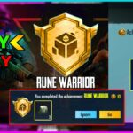 Easy Way To Complete Rune Warrior Achievement in Pubg Mobile Get Free 3 Classic Scrap (Hindi)