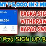 Gcash Hack Earn ₱5000 In Just 2 Minutes Of Playing New Trending Legit Application (With Proof)