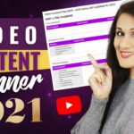 Get your YouTube Video Planning Template (free) – How to Plan, Outline Script your YouTube videos