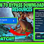 HOW TO BYPASS DOWNLOADING RESOURCES IN MOBILE LEGENDS BANG BANG LATEST PATCH