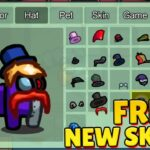 HOW to GET ALL NEW SKINS FOR FREE IN AMONG US ALL FREE SKINS and PETS (AMONG US NEW UPDATE)
