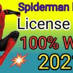 How To Get The License Key Of SPIDERMAN. spiderman license key 2021 100working