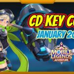 New CD Key Code – January 2021 Mobile Legends: Adventure