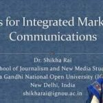 Tools for Integrated Marketing Communications