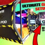 We made the ULTIMATE GAMING POD