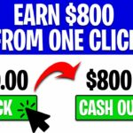 Earn 800 Fast For One Click FOR FREE (Make Money Online Today)