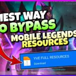 HOW TO FAST DOWNLOAD YVES PATCH MOBILE LEGENDS RESOURCES 2021