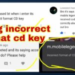 HOW TO FIX INCORRECT FORMAT CD KEY FOR REDEEMTION