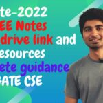 GATE CSE Hand Written notes and FREE resources and Websites Complete guidance for GATE-2022