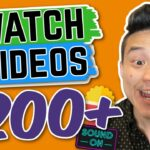 Get Paid To Watch Videos: Earn 200+ (Paypal)
