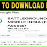 HOW TO DOWNLOAD BATTLEGROUNDS MOBILE INDIA EARLY ACCESS IS HERE BGMI FIRST LOOK 😍
