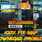 How to Fix Map Download Problem in Battleground Mobile India Download Maps Resources in BGMI