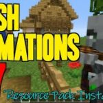 How to add Animations to Minecraft 1.17 – download install Fresh Animations resource pack 1.17