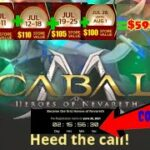 How to play CABAL MOBILE PH 5 TIPS to become MAMAW (worth 30k PHP GM FREEBIES)