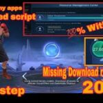 ML new patch 2021 : Fix missing download resources of mobile legends No need any app