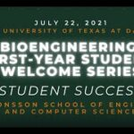 Bioengineering Student Welcome Event How to Succeed in the First Year 1
