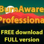BurnAware Professional free download free installation and activation license key code