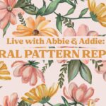Floral Pattern Repeats with Uproot Brushes