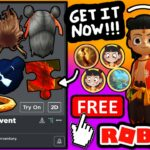 HOW TO GET EVERYTHING FREE ITEMS KID NEZHA ROBLOX EVENT ALL BADGES PRIZES EXPLAINED