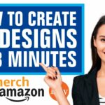 How To Create 50 Designs In 3 Minutes For Redbubble, Merch By Amazon, Etsy Print On Demand Business