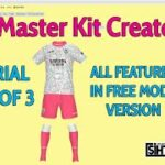 PES Master Kit Creator Tutorial Part 1 of 3: Free tool mode does a lot