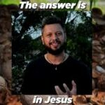 The answer is in Jesus