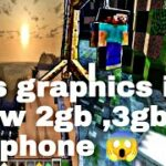 1 Minecraft resources pack high graphics in low device 😱download for free sg gaming