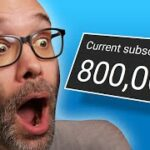A Message For NEW YOUTUBERS From Someone Who Just Crossed 800,000 Subscribers
