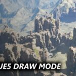 Design your Levels using Modeling Tools in UE5 Draw Mode