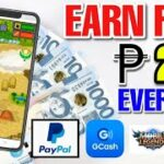 FREE P250.00 EVERYDAY BY PLAYING GAMES, WATCHING VIDEOS AND ANSWER SURVEYS NEW EARNING APP 2021