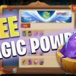 HOW TO GET FREE MAGIC POWER CASTLE CLASH