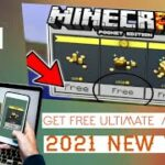 How To Get Free Ultimate Minecraft Coins MINECRAFT P.E 1.17 + free Minecoin No Mod Working 100