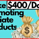 How To Make 400 Promoting Affiliate Products Online Free Resources Making Money Online
