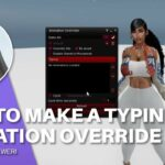 How To Make A Typing Animation Override Hud SecondLife
