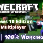 How to get Minecraft Windows 10 Edition Free (With Multiplayer Server) 2021 Easy Method