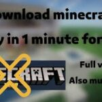 How to get real minecraft for freeOnly in 1 clickFull versionNo beta version