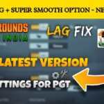 🔥 BEST SETTING FOR PGT + 0.20.4 GFX TOOL PGT + NEW UPDATE 0.20.4 BEST GFX TOOL FOR BGMI PUBG