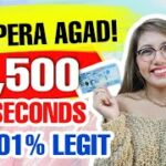 EARN P1,500 IN 5 SECONDS PAG LOG-IN MAY LIBRENG PERA AGAD LEGIT WITH OWN PROOF XM 100 BONUS
