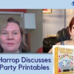 Easy Party Printables with Amy Harrop Becky Beach Show Live