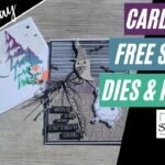 🛑 GIVEAWAY + MAKING CARDS with Sale-A-Bration 2021 FREE Stamps, Dies Papers WATCH to win