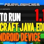 How to Run Minecraft Java Edition 1.17.1 on Android Device – download install PojavLauncher APK