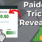 Paidera Earn Free PayPal Money New Method Make Money Online PayPal Money Get Paid Per Click Paidera