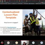 Accessible Online Tools for Contextualizing Learning in Construction