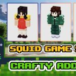 How to create Squid Game Skins using Crafty Addons? ( Addons Skins Maps for MCPE )