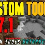 How to get Custom Tools in Minecraft 1.17.1 – download install Custom Tools Datapack